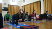 Residential yoga teacher training in India