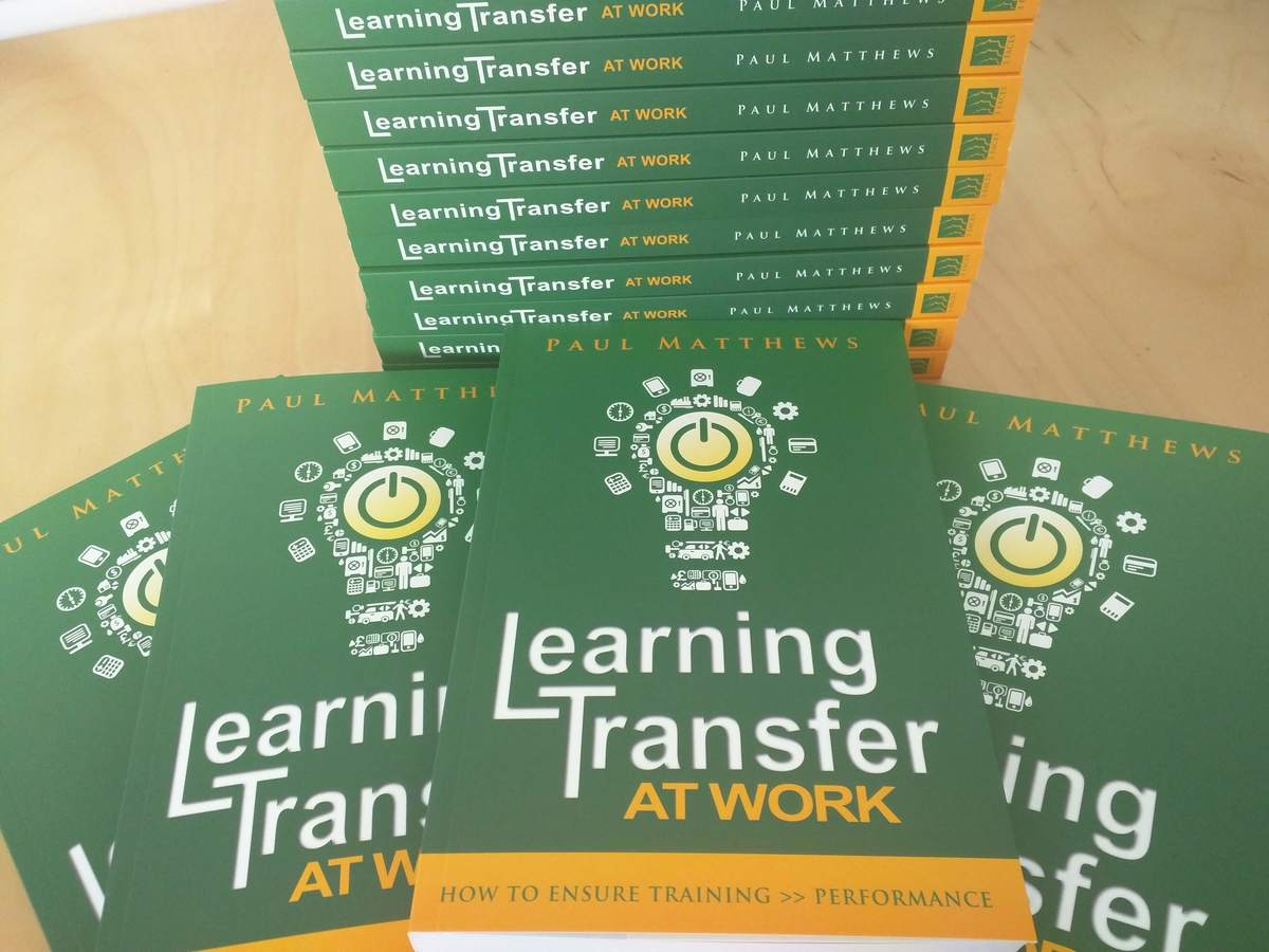Learning Transfer at Work - win a copy