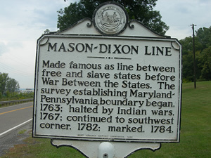 Mason Dixon Line Land Surveying Facts