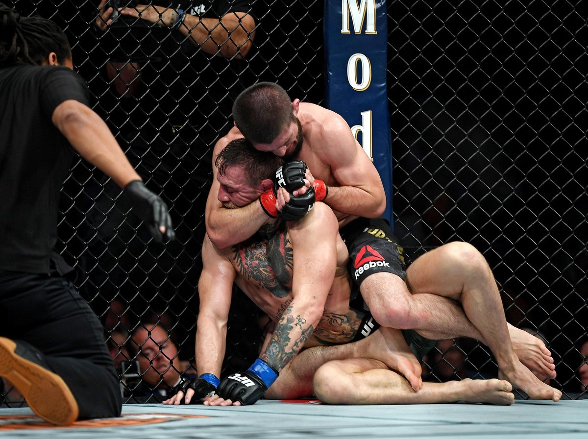 Khabib vs McGregor Post-fight Fight
