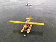 STOL CH 701 on Full Lotus floats