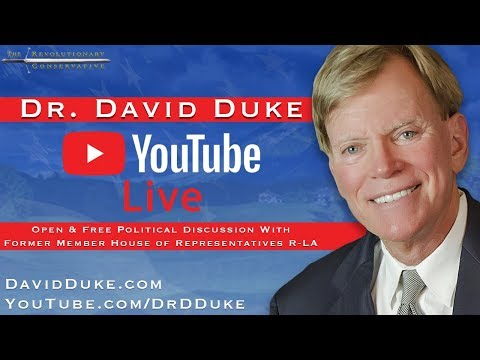 Dr. Duke LIVE Episode 4: Fmr LA. Rep Dr. David Duke Talks About PAYMENT Censorship