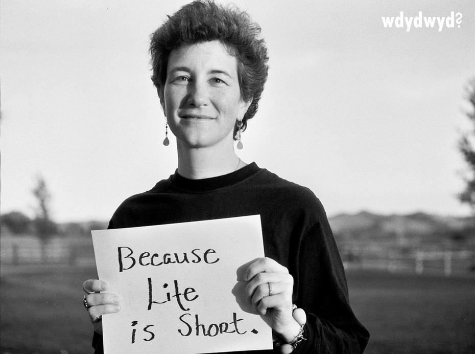 """Michelle Sullivan - """"life is short"""""""