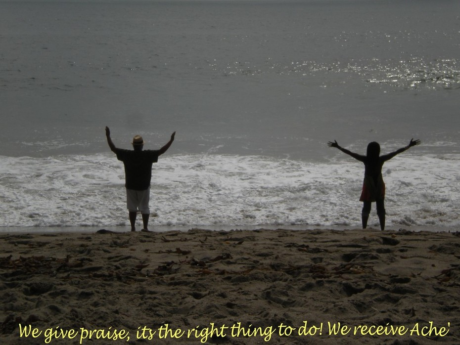 We give praise......