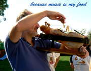 because music is my food