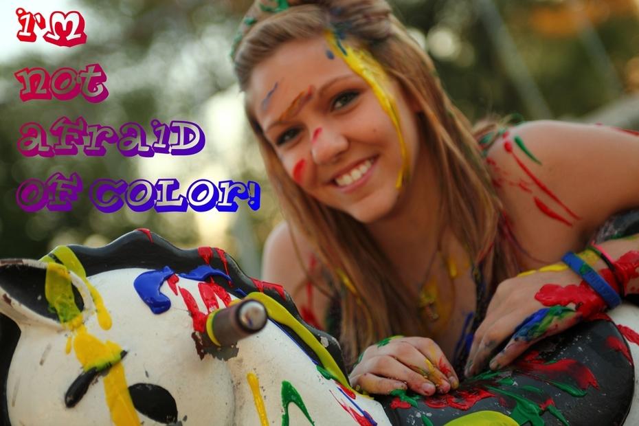 Afraid of color