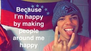 Happy making other people happy