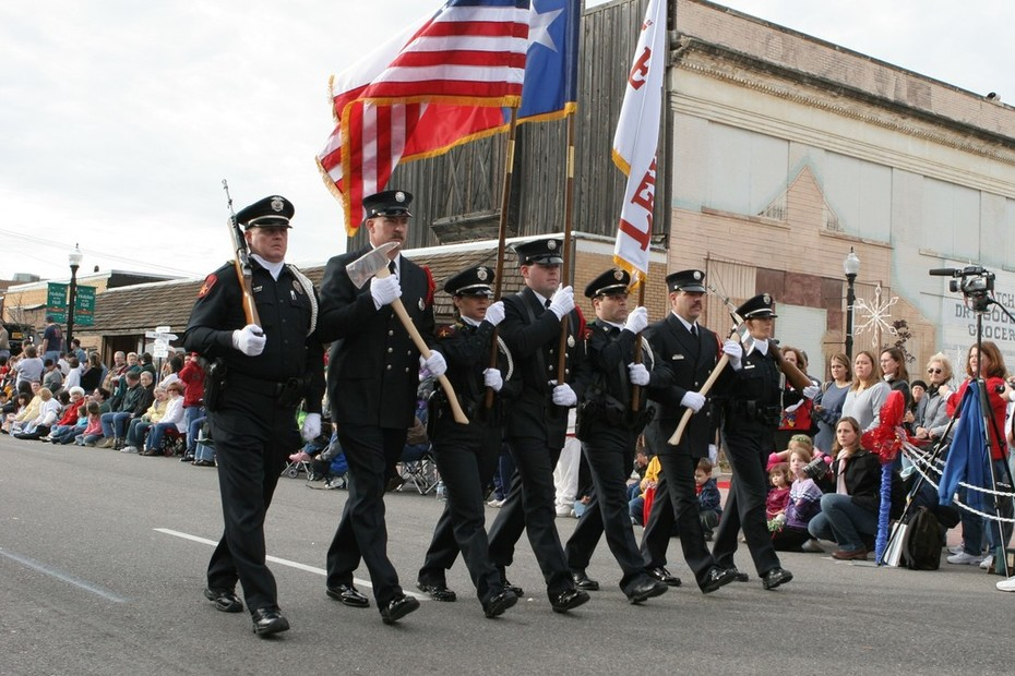 "Our joint Fire/Police Honor Guard ""Keeping Tradition Alive"""
