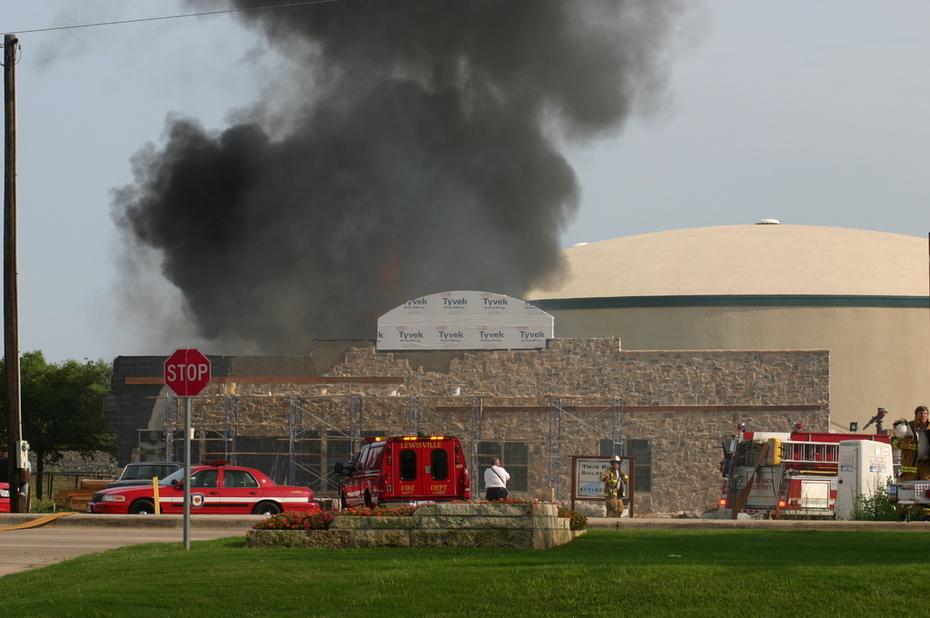 BMR Pool & Patio fire