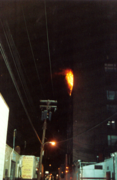 high rise fire photo great
