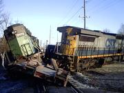 Train Derailment - Sullivan
