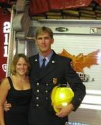 Me and Troy @ his Lt's promotion