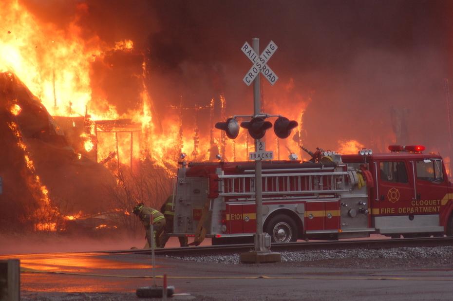 Home Center Fire