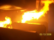 Inside the fire simulator