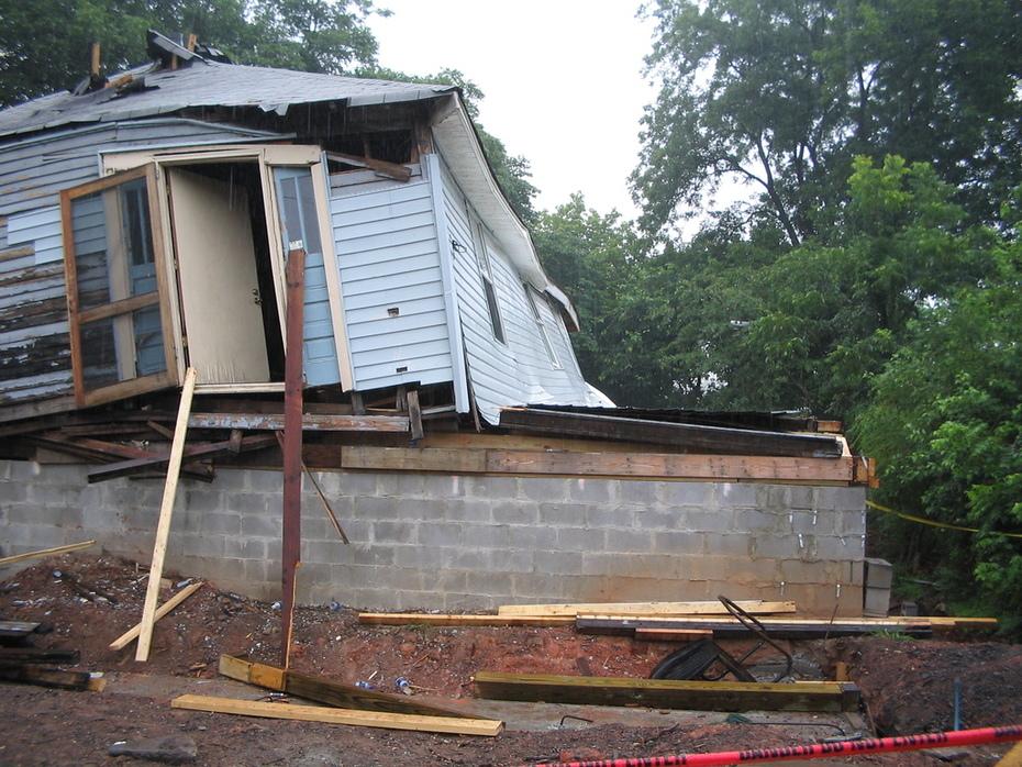 Atlanta House Collapse