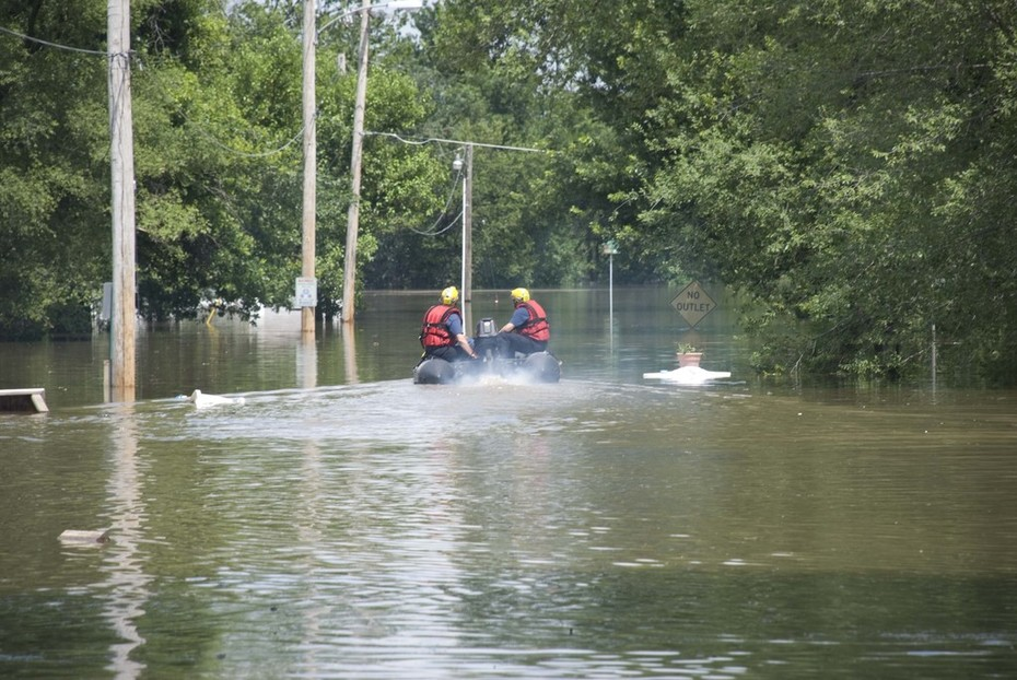 Flood deployment