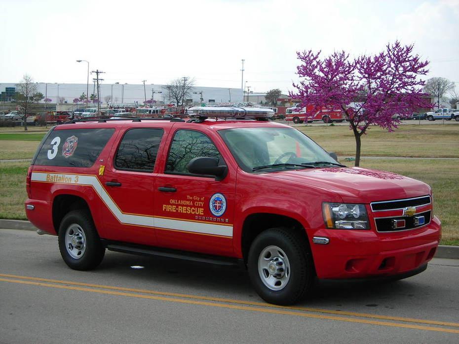 Okla City Fire Dept - Battalion 603 - Command Vehicle