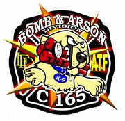 Bomb & Arson logo