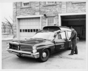Ambulance and Hugh Epperson 3-20-1964