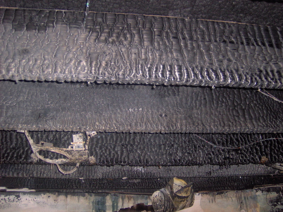 Dimensional Lumber Charring Direct Flame