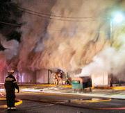 Sunset plaza fire