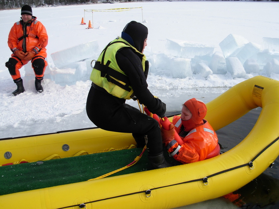 Ice Instructor Training in WI