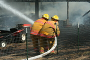 Winchester-Clayton Barn Fire 2