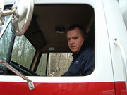 Firefighter Mark Weade HazMat 351