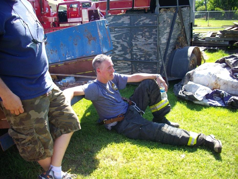 Chief H. Taking a break
