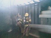 My 1st good fire 8/08