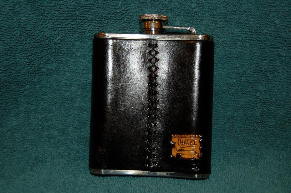 IAFF Flask back view