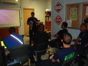 San Juan Fire / Medics Live Fire Training at Fort Buchanan Fire Department