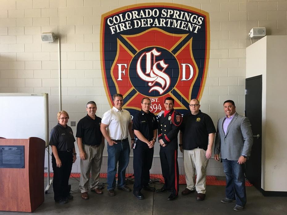 Brian with Colorado Springs Fire Dept