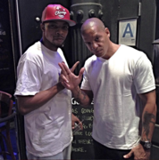 me and peter gunz