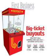 Corporate buyout cover