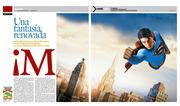 Superman spread