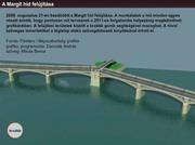 Recounstruction of the Margaret-bridge in Budapest, Hungary
