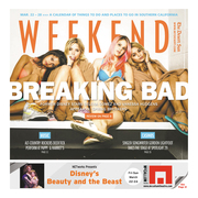 The Desert Sun // Weekend entertainment section cover