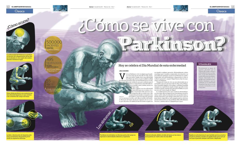 En el día mundial del Parkinson