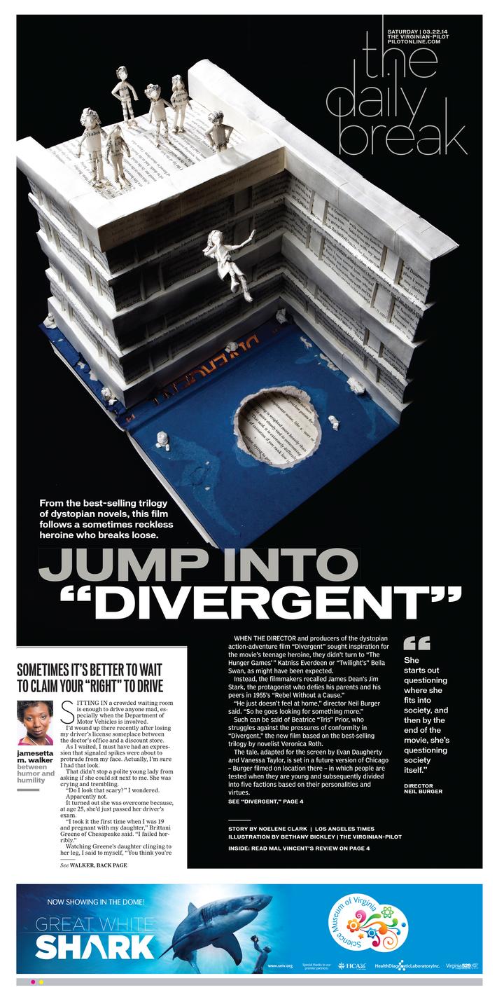 "Jump into ""Divergent"""
