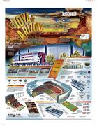 Infografía Estadio de la Universidad de Phoenix