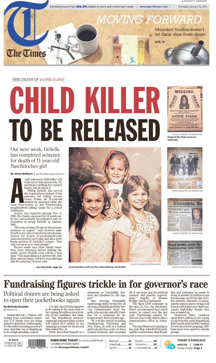 Child Killer Released