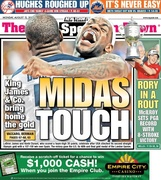 Sports Cover - New York Post