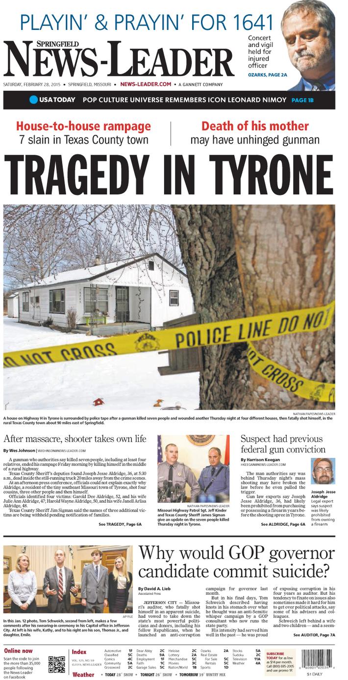 Tragedy in Tyrone