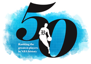 50 greatest players in NBA history (cover)