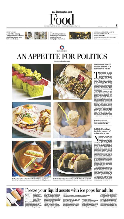 An Appetite for Politics