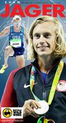 Evan Jäger silver medal Olympian