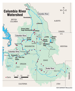 Columbia River watershed