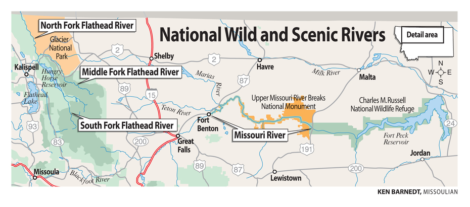 National Wild and Scenic Rivers: Flathead and Missouri