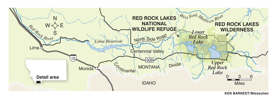 50 Wild Places: Red Rocks Lakes